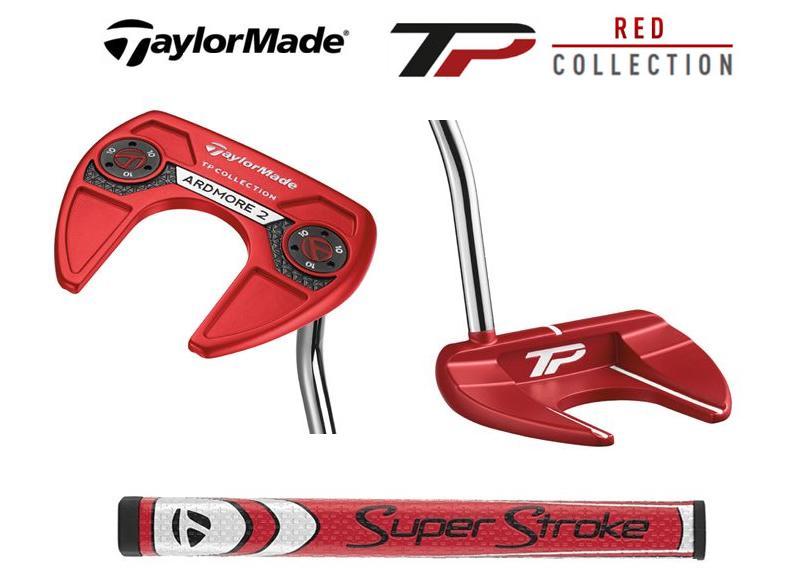 【新品】TaylorMade TP COLLECTION RED Ardmore2 テーラーメイド TP コレクション レッド パター アードモア2 2017年モデル 日本正規品 ヘッドカバー、メーカー保証書付き