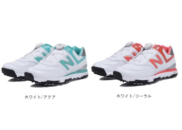 ニューバランスゴルフ レディース ソフトスパイク ボアシューズMGB574 日本正規品