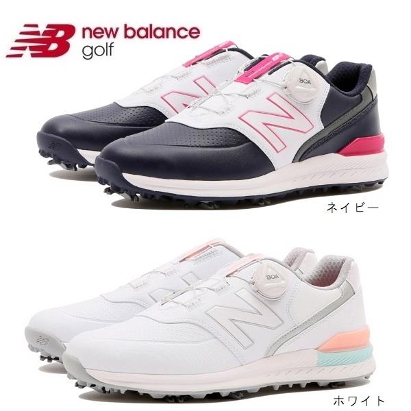 ニューバランス レディースゴルフシューズソフトスパイク ボア WGB996 日本正規品