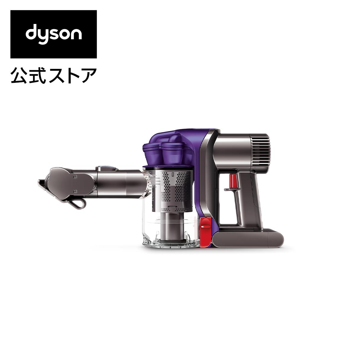 ダイソン Dyson DC34 モーターヘッド サイクロン式 ハンディクリーナー [DC34MH] 掃除機 アイアン/サテンパープル