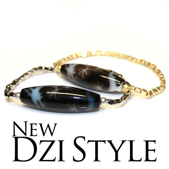 【新しい天珠スタイル 3rd】 選べる天珠 ブレスレット 至純天珠 ジーカラット DZI BEADS ジービーズ チベット