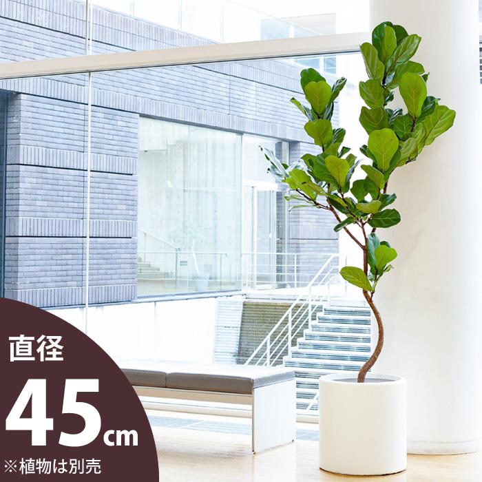 大型シリンダー植木鉢(10号サイズ/45cm)おしゃれな鉢カバーとして使ってもOK!【送料無料・同梱不可】【ma】