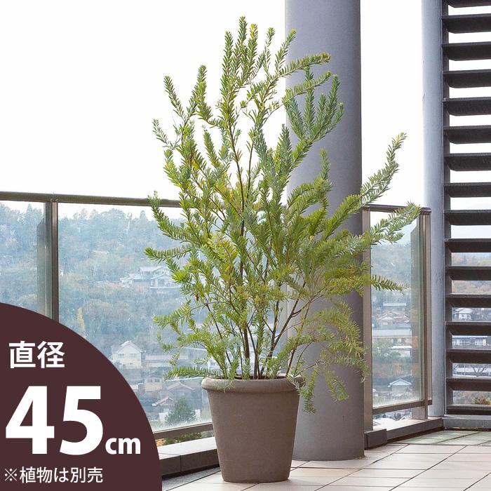 モダンで高品質。大型セラミック植木鉢・陶器鉢(10号サイズの植物向け)【ma】鉢カバーとしてもおしゃれです。※同梱不可商品です
