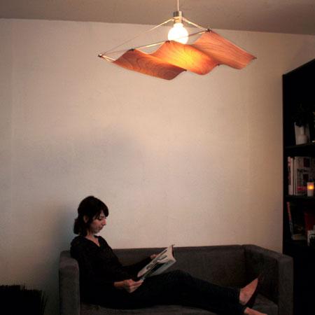 【送料無料】Onda-wood pendant lamp【TC】【DIC】【送料無料】■PUP