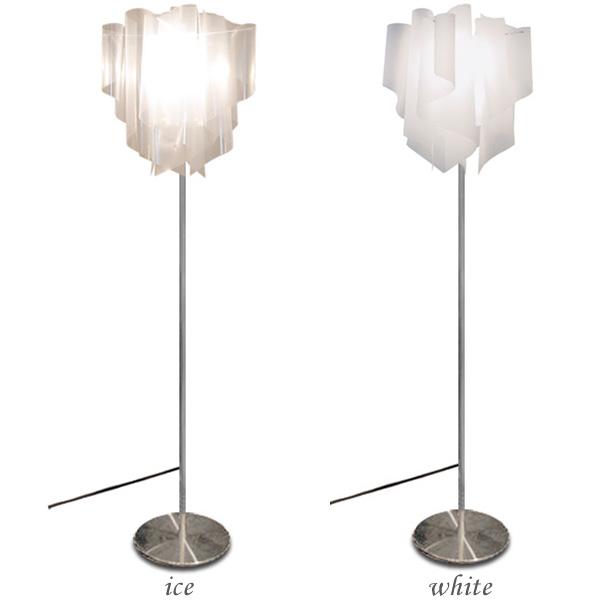 DI CLASSE(ディ クラッセ) Auro floor lamp LF4200 白い・ice【TC】【照明/インテリア/リビング/フロアランプ/ライト/間接照明/北欧/ナチュラルテイスト/モダン】