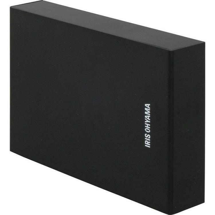 [2個セット]テレビ録画用 外付けハードディスク 4TB HD-IR4-V1 ブラック 送料無料 ハードディスク HDD 外付け テレビ 録画用 録画 コンパクト シンプル LUCA ルカ レコーダー USB アイリスオーヤマ 録画ディスク ディスク