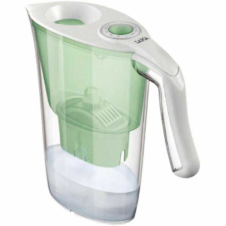 LAICA ポット型浄水器 2.3L PRD1610001ろ過 ライカ 浄水ポット キッチン用品 ヒロコーポレーション ミント・ホワイト・レッド・ブルー【D】