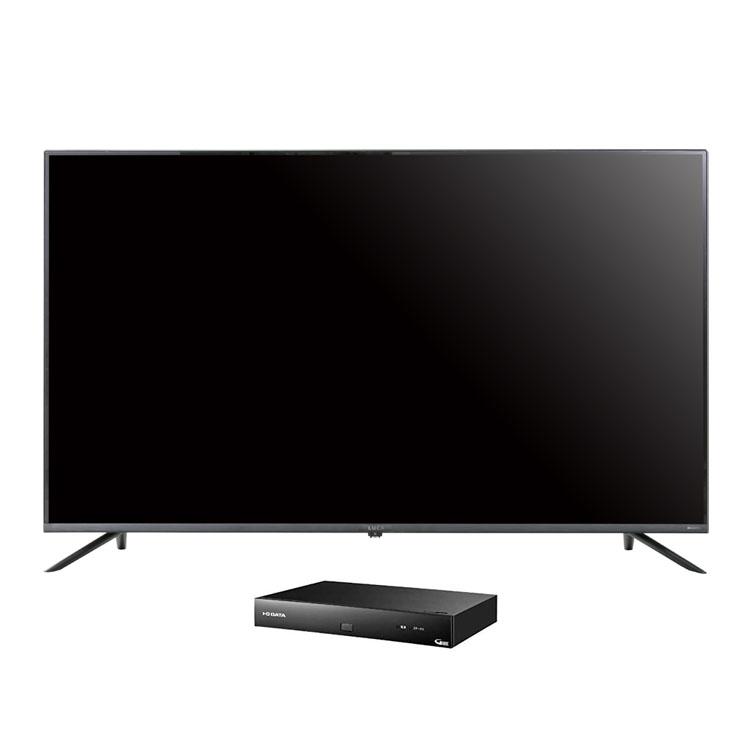 4Kテレビ ベゼルレス 50型 4K対応チューナーセット品送料無料 テレビ 4Kチューナー セット TV 4K 50v 50型 4K対応 チューナー アイリスオーヤマ