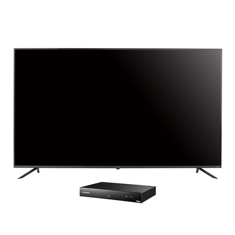 4Kテレビ ベゼルレス 65型 4K対応チューナーセット品送料無料 テレビ 4Kチューナー セット TV 4K 65v 65型 4K対応 チューナー アイリスオーヤマ
