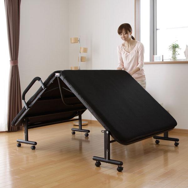 ベッド 寝具】【送料無料】折りたたみベッドセミダブルOTB SD