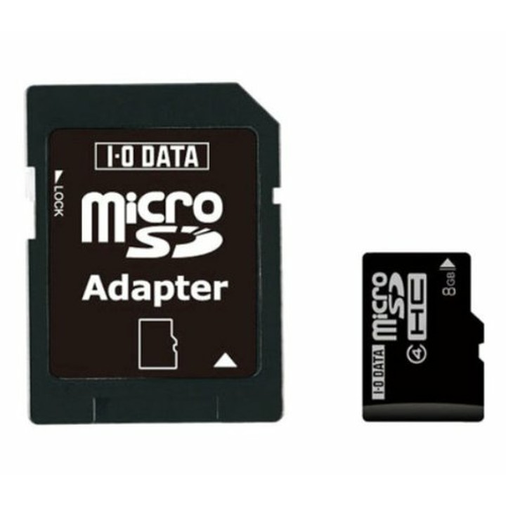 Class 4対応 microSDHCカード 8GB SDMCH-W8G/Aメモリカード SDHCcard SDカード マイクロSD メモリカードSDカード メモリカードマイクロSD SDHCcardSDカード SDカードメモリカード マイクロSDメモリカード アイ オー データ機器【TC】