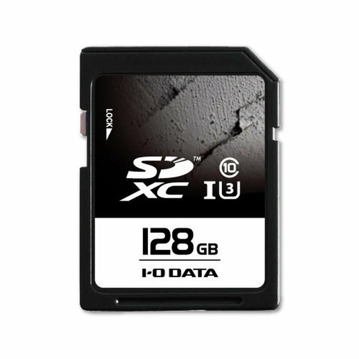 UHS スピードクラス3対応 SDメモリーカード 128GB SDU3-128G送料無料 メモリカード SDカード マイクロSD SDメモリ メモリカードSDメモリ マイクロSDメモリカード アイ オー データ機器【TC】