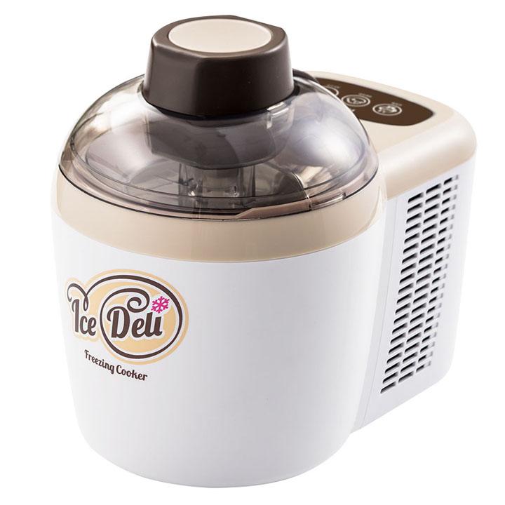 アイスデリ JL-ICM710A-W送料無料 アイスクリームメーカー アイスクリーマー 家庭用 キッチン家電 ハイアール 【D】