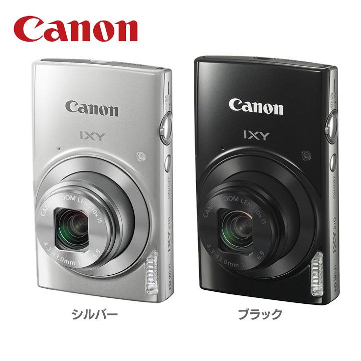 デジタルカメラ IXY210送料無料 カメラ 写真 フォト CANON キヤノン シルバー・ブラック【D】