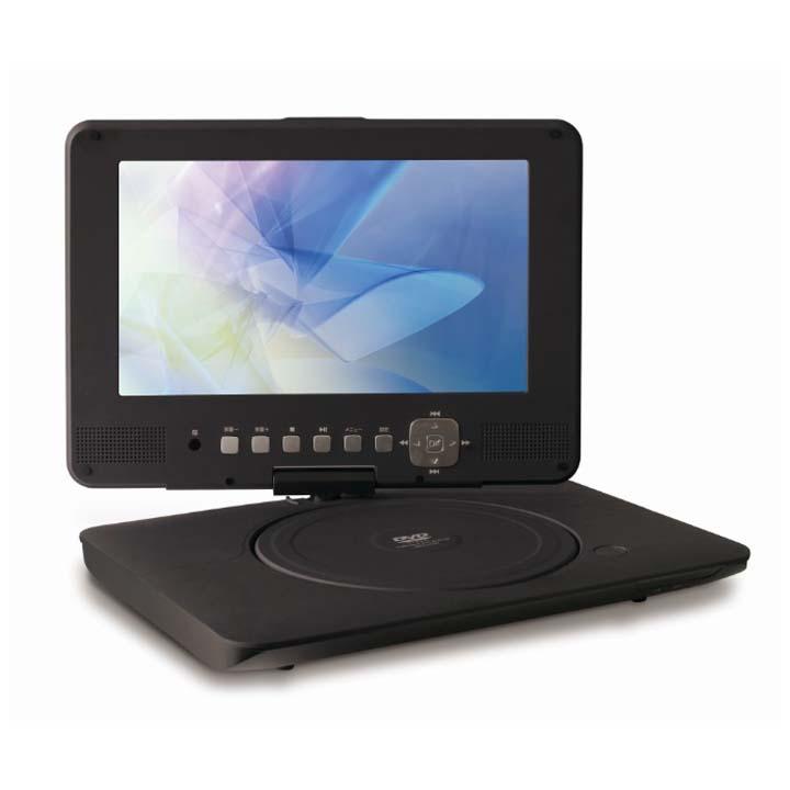 9型バッテリー内蔵ポータブルDVDプレーヤー ブラック DVD-P920送料無料 DVDプレイヤー CPRM対応 9インチ 家電 アズマ 【D】