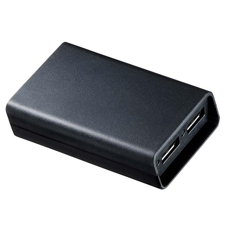 DisplayPort MSTハブ(DisplayPort×2) AD-MST2DP送料無料 ディスプレイ用ハブ MSTハブ モニタ ディスプレイポート 2分配 分配 拡張 2画面 オフィス サンワサプライ 【TD】【代引不可】