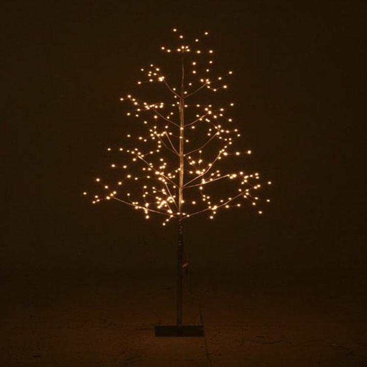 ミニLEDツリー 150CM ホワイト 16435送料無料 クリスマスツリー ミニツリー LED LEDライト イルミネーション クリスマス Xmas 北欧 不二貿易 【D】