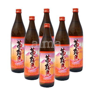 茜霧島 25度 900ml瓶 1ケース(6本)