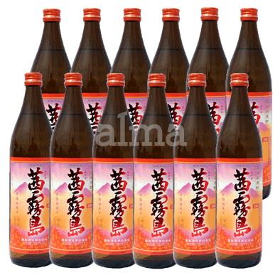 【送料無料】茜霧島 25度 900ml瓶 2ケース(12本)