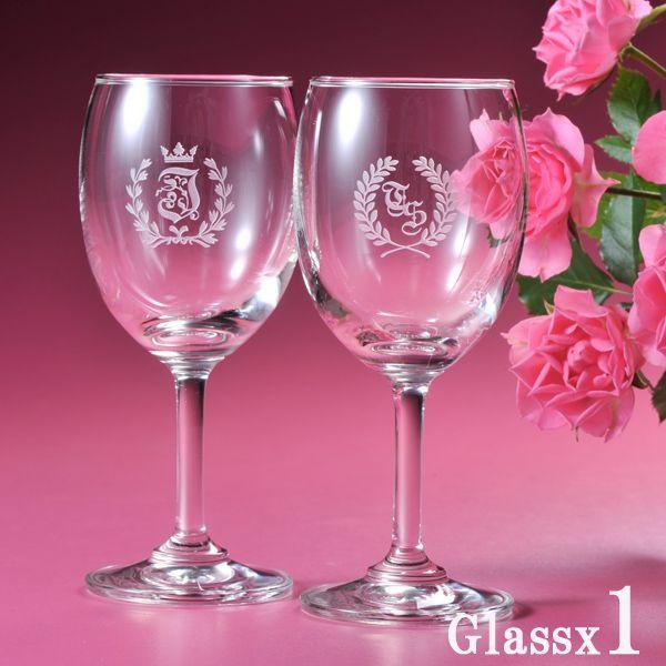 e angel rakuten global market initials engraved wine glasses