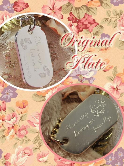 E Angel Middledecoratsvea Princess Id Plate Set Gift Gift
