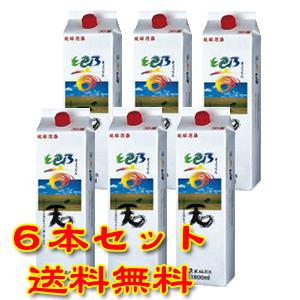 久米仙酒造 響天 30度 1800ml 紙パック 6本セット 【泡盛】【送料無料】