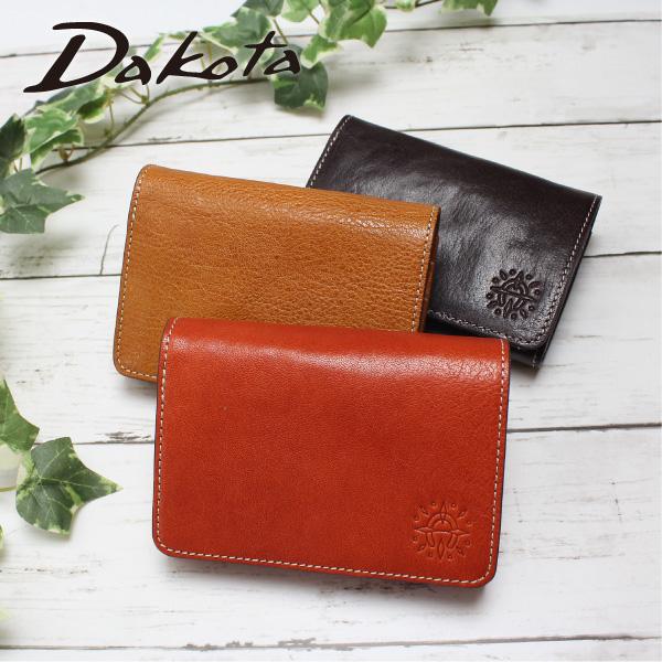 ダコタ 二つ折り財布 ミニ財布 レディース 牛革 本革 フォンス Dakota 0035891 ポイント10倍