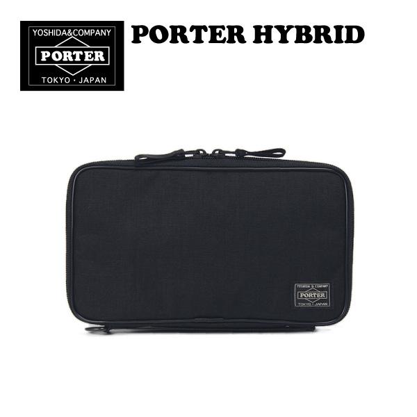 ポーター ハイブリッド パスポートケース トラベルオーガナイザー PORTER HYBRID ナイロン 財布 カードケース メンズ レディース 日本製 吉田カバン 737-17824 ポイント10倍
