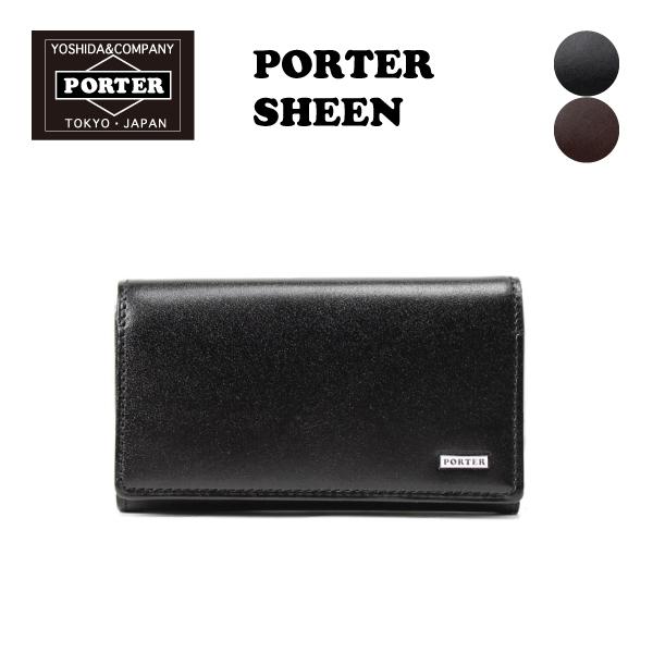 PORTER SHEEN シーン キーケース(110-02923)/吉田カバン メンズ 牛革 レザー 父の日 贈り物 無料ラッピング