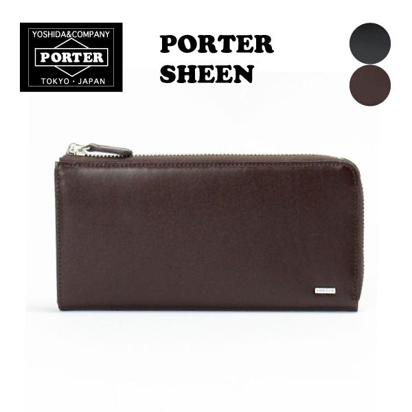 PORTER SHEEN ポーターシーン L型長財布(110-02927)/吉田カバン 父の日 贈り物 無料ラッピング
