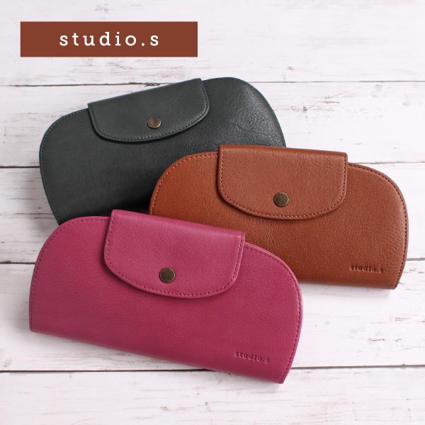 レディース 財布 長財布 かぶせ 本革 牛革 レザー studio.s スタディオ・S koro コロ 953-SS-6D101