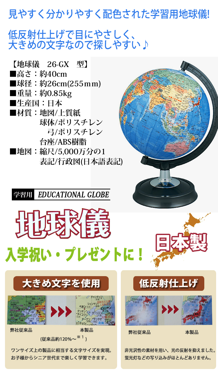 e-bag stores: Globe 26 cm Showa carton standard model-3 t. made in ...