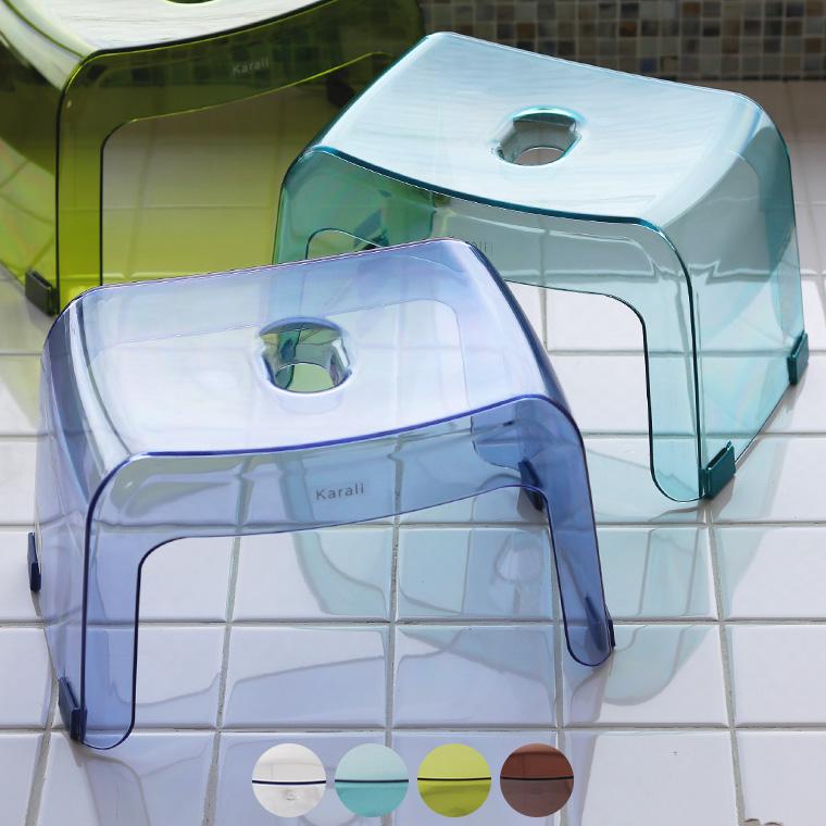 最新号掲載アイテム 透明感から生まれる清潔感 使った後はカラッと乾く ギフトにもおすすめ カラリのバスチェア アーチ 日本製 バスチェア バーゲンセール カラリ 腰かけ HG 20H 透明 おしゃれ いす あす楽 イス 清潔感 ギフト クリア プレゼント 風呂椅子