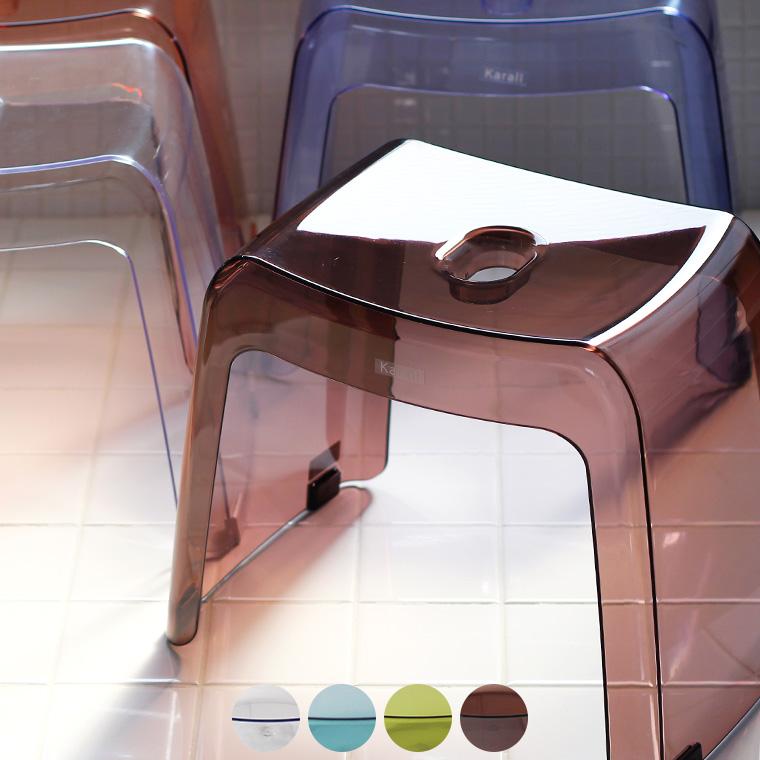 透明感から生まれる清潔感 使った後はカラッと乾く ギフトにもおすすめ カラリのバスチェア 在庫一掃売り切りセール アーチ 日本製 風呂椅子 カラリ 腰かけ HG 30H バスチェア いす 清潔感 新作 クリア 透明 あす楽 イス ギフト 軽量 軽い 風呂 プレゼント おしゃれ