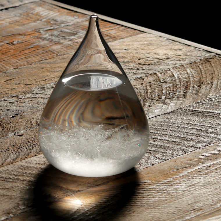 Tempo Drop 大人気 mini テンポドロップ ミニ 結晶 テンポドロップミニ 置物 インテリア おしゃれ ストームグラス オブジェ 贈り物 雑貨 クリア 飾り 2020A/W新作送料無料 あす楽 ナチュラル 内祝い ガラス ドロップ しずく 雫 北欧