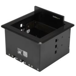 StarTech.com ケーブル/コード収納ボックス 会議室や演壇テーブルに埋め込むタイプ(BOX4CABLE) 目安在庫=△【10P03Dec16】