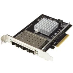 StarTech.com 4ポートSFP+搭載PCIe LANカード XL710チップ PEX10GSFP4I 目安在庫=△【10P03Dec16】