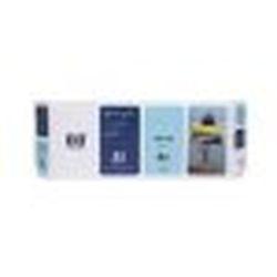 純正品 HP HP81 インクカートリッジ ライトシアン (C4934A) 目安在庫=△【10P03Dec16】