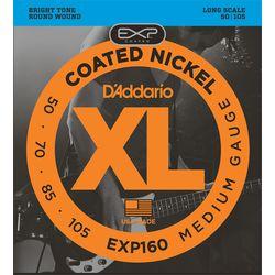 Daddario ダダリオ ダダリオ コーティング・ベース弦 EXP160 1セット 仕入先在庫品【10P03Dec16】