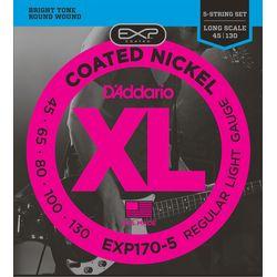 Daddario 1セット 仕入先在庫品【10P03Dec16】 ダダリオ ダダリオ コーティング・ベース弦 EXP170-5