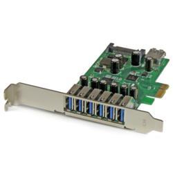 StarTech.com 7ポートUSB3.0増設PCIeカード ロープロファイル対応 PEXUSB3S7 目安在庫=○【10P03Dec16】