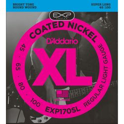 Daddario ダダリオ ダダリオ コーティング・ベース弦 EXP170SL 1セット 仕入先在庫品【10P03Dec16】
