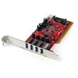 StarTech.com USB 3.0 4P増設PCIカード PCIUSB3S4 目安在庫=△【10P03Dec16】