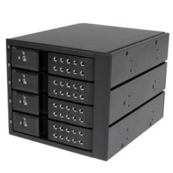 StarTech.com 4x 3.5インチ SAS/SATA HDD対応ラック HSB4SATSASBA 目安在庫=△【10P03Dec16】