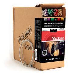 Daddario ダダリオ ダダリオ コーティング・アコースティックギター弦 Bulk Shop EXP16-B25 仕入先在庫品【10P03Dec16】