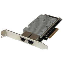 StarTech.com 10Gbイーサネットx2増設PCIe対応LANカード ST20000SPEXI 目安在庫=△【10P03Dec16】