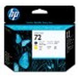 純正品 HP HP72 プリントヘッド マットブラック/イエロー (C9384A) 目安在庫=○【10P03Dec16】