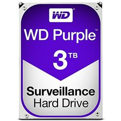 WESTERN DIGITAL WD30PURZ WD Purple 監視用 3.5インチ内蔵HDD 3TB SATA6Gb/s 5400rpm 目安在庫=○【10P03Dec16】