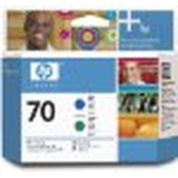 日本HP HP70 プリントヘッド ブルー/グリーン(C9408A) 目安在庫=△【10P03Dec16】