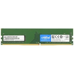 グリーンハウス GH-DRF2400-4GB 4GB 288pin PC4-19200 DDR4 LONG-DIMM メーカー在庫品【10P03Dec16】